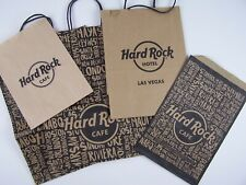 Hard Rock Cafe Hotels & Casino Souvenir Shopping Bags