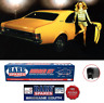 HOLDEN HG MONARO & GTS COUPE BODY RUBBER KIT WITH BLACK PINCHWELD