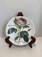 Roy Kirkham Traditional Redoute Rose Large Breakfast Saucer Plate Bone China