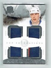 10-11 UD The Cup Foundations  Mike Bossy  /10  Quad Patches  HOF