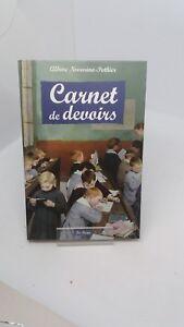 Carnet de devoirs - Albine Novarino-Pothier