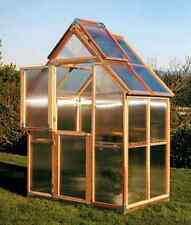 Sunshine GardenHouse Mt. Hood 6X4 Greenhouse with bench [GKP64]