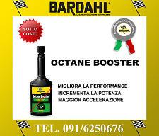 BARDAHL OCTANE BOOSTER Trattamento Benzina Elevatore Ottani 250 ml ADDITIVO