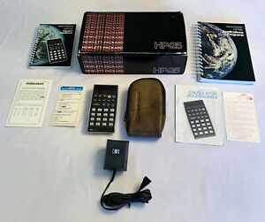 HP 25  With Original Box, Manuals and Charger - Complete Set