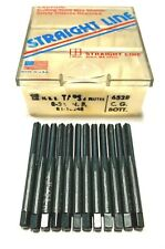 8-36 Hand Tap Bottoming Taps HSS 4 Flute 12 Pack USA Made