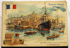 BISCUITS PERNOT/GRANDS PORTS DU MONDE/MARSEILLE/CPA/COLLECTOR/DIJON