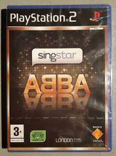 Jeu SINGSTAR ABBA - Playstation 2 (PS2) - Français (PAL) - Neuf sous blister