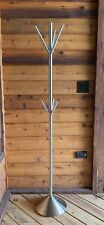 Weighted Coat Rack (or Towel)  Brushed Nickel