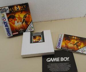 GBC Nintendo THE MUMMY RETURNS Spiel Game Boy Color 2001