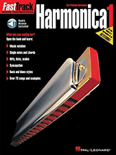 Fast Track Harmonica Music Book & Audio apprendre à jouer du blues diatonique orgue à bouche