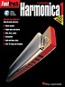 FAST TRACK HARMONICA Music Book & Audio Learn To Play Blues Diatonic Mouth Organ