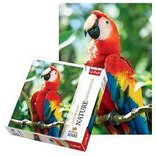Trefl 1000 Pezzi Natura Scarlet Macaw adulto Grande Pappagallo FLOOR PUZZLE NUOVO