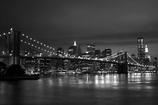New York Home Decor Canvas Print A4 Size (210 x 297mm)