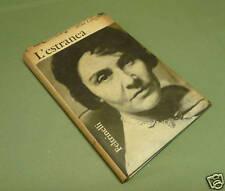 LANGFUS L'estranea. Prima edizione 1963 Ebrei Shoah
