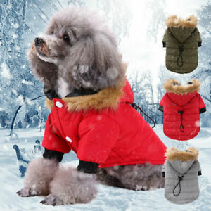 Pets Love Doggie Thickening Jacket Coat Pet Clothes Dog Warm Clothing for Winter