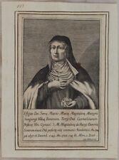 SERVA DI DIO MARIA MADDALENA MAZZONI BOLOGNA GIOVANNI FABBRI 1750 EMILIA ROMAGNA