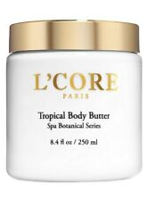 NEW L'Core Paris Tropical Body Butter Rich Cocoa Seed Extract Moisturizing 8.4 o