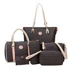 6 Set Moderno Mujer Bolso de hombro mujer bolsa cartera monedero bolso