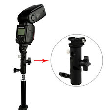 Adjustable Hot Shoe Mount Adapter Flash Light Stand Umbrella Holder Bracket DH