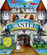 Lift, Look, Learn MEDIEVAL CASTLE Over 150 Lift the Flaps by Jim Pipe NEW