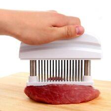 48 Needles Stainless Steel Meat Tenderizer Chicken Beef Pork Herb & Spice Tool
