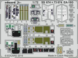Eduard 1/72 Boeing EA-18G Growler Zoom Set # SS674