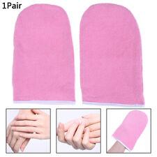 1 Pair Wax Warmer Protection Paraffin Hand Gloves Heater Spa Cotton MitteHk Sk~