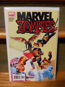 Marvel Zombies  🧟 4 of 5 (2006)  X-Men Homage Cover🔥🗝️ MCU Disney+ NM