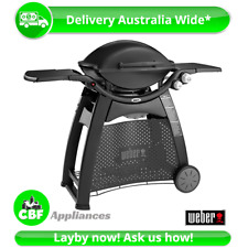 Weber 56010124 Q3100 Family Q Gas Barbeque BBQ Grill LPG Black Camping Burner