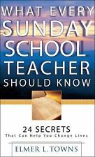 What Every Sunday School Teacher Should Know : 24 Secrets That Can Help You...
