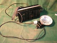 antiker UltraBlitz Matador  Blitz transportabel mit Ladegerät