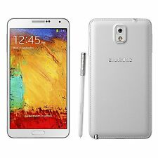 New Samsung Galaxy Note 3 SM-N900A (GSM UNLOCKED) 32GB LTE White in Box