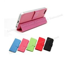 Mini Magnetic Smart Cover Pouch Case for iPhone 5 5S SE - Pink