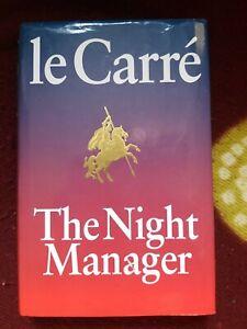 JOHN LE CARRÉ The Night Manager SIGNED 1st/1st hardback DJ 1993