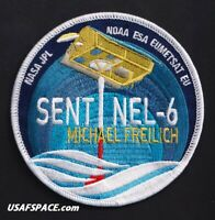 NASA JPL - SENTINEL -6 - SPACEX FALCON 9 Launch VAFB USAF NOAA ESA Mission PATCH
