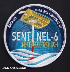 NASA JPL - SENTINEL -6 - SPACEX FALCON 9 Launch VAFB USAF NOAA ESA Mission PATCH