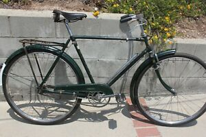 Phillips pre Raleigh 1957 3 Speed Bicycle, 28 inch Wheels, Rod Brakes