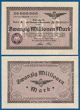 Rico ferrocarril colonia 20 millones 1923 casi kassenfrisch mg 7/p.s1285