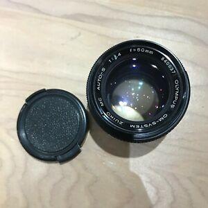 Olympus Auto-s 50mm f1.4 Manual Focus Lens *316