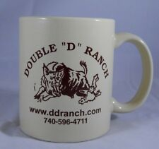 "Coffee Mug DOUBLE ""D"" RANCH Exotic Trophy Hunting Destination Ohio Hunt Cup Game"