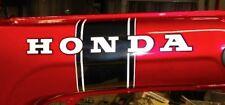 Honda CT70 KO 2pc. Black Stripe Main Body/Frame Decal/Sticker Set 69-71