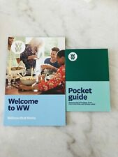 Weight Watchers 2019 FREESTYLE  - WELCOME BOOK + POCKET GUIDE