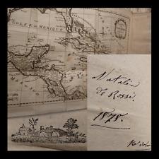 VIAGGI - Mappe Scoperta America 1798 - Campe : Decouverte de l'Amerique 3 voll.