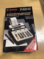 Cannon P40-D Mini Desktop Printing