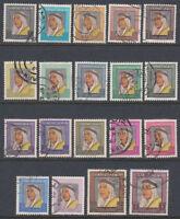 Kuwait 1964 fine used Mi.215/33 Freimarken definitives Scheich sheik [ga430]