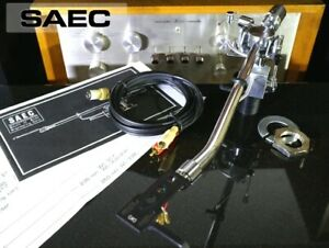SAEC WE-308L Long tone arm good condition from japan