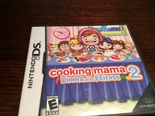 Cooking Mama 2 Dinner With Friends (Nintendo DS) Complete Kids Rare