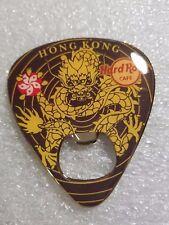 HONG KONG,Hard Rock Cafe,Magnet Bottle opener Guitar Pick