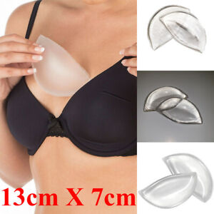 Chicken Fillets Silicone Breast Enhancers Cleavage Boost Gel Bra Inserts Pads