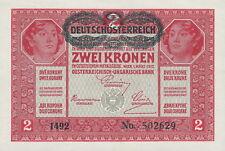 Austria/Austria 2 corone 1917 (1919) 50 PICK